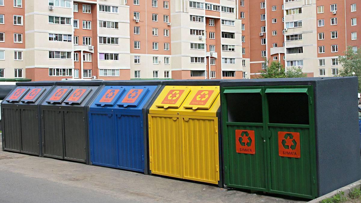 Контейнерная площадка для мусора - размеры и нормы установки