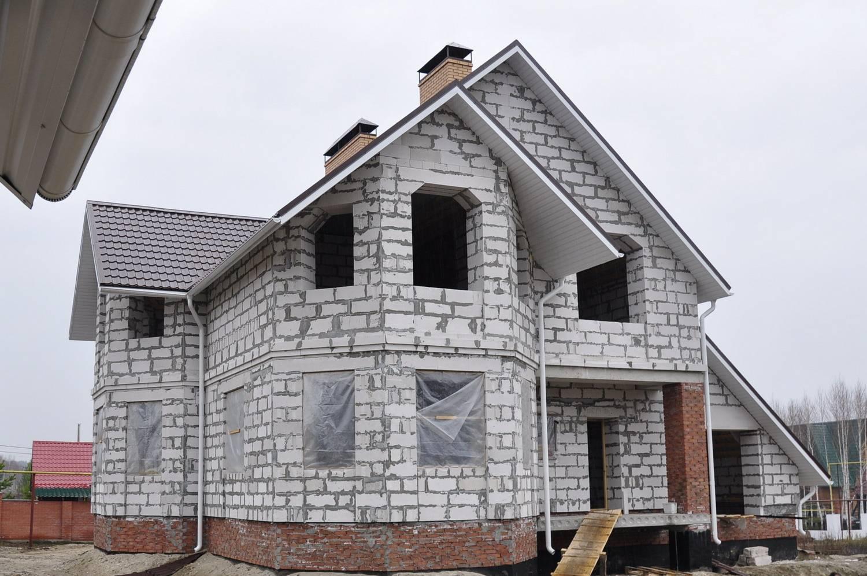 Строительство дома из газобетона 6 основных стадий