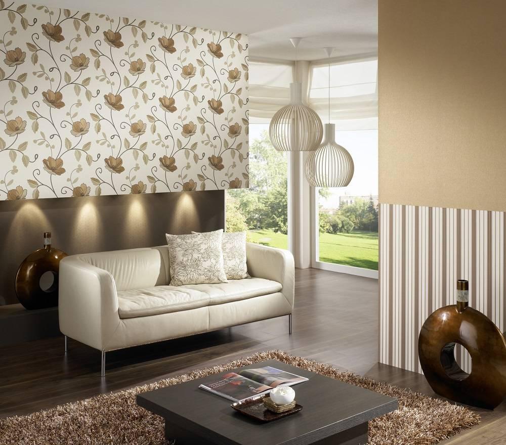 Как выбрать обои для зала и как их скомбинировать. обои для гостиной 70 фото дизайна