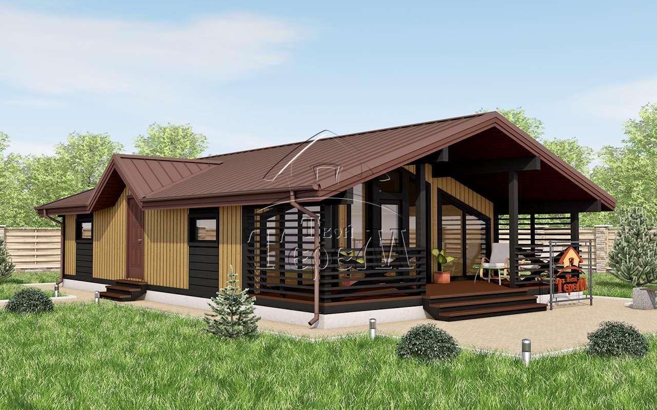Лучшие проекты одноэтажных домов и коттеджей   строительный блог вити петрова