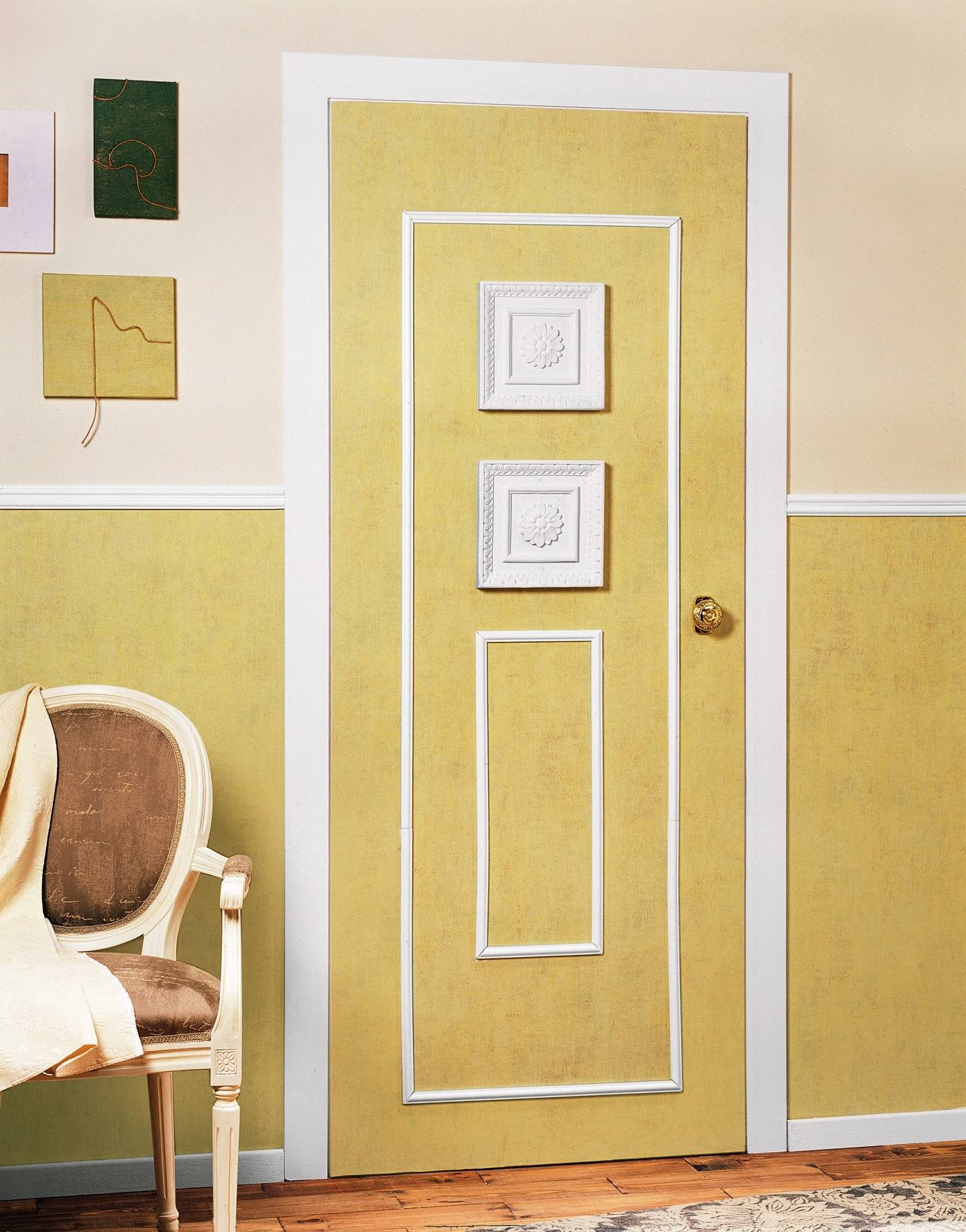 Как обновить двери, не меняя их: фото вариантов
