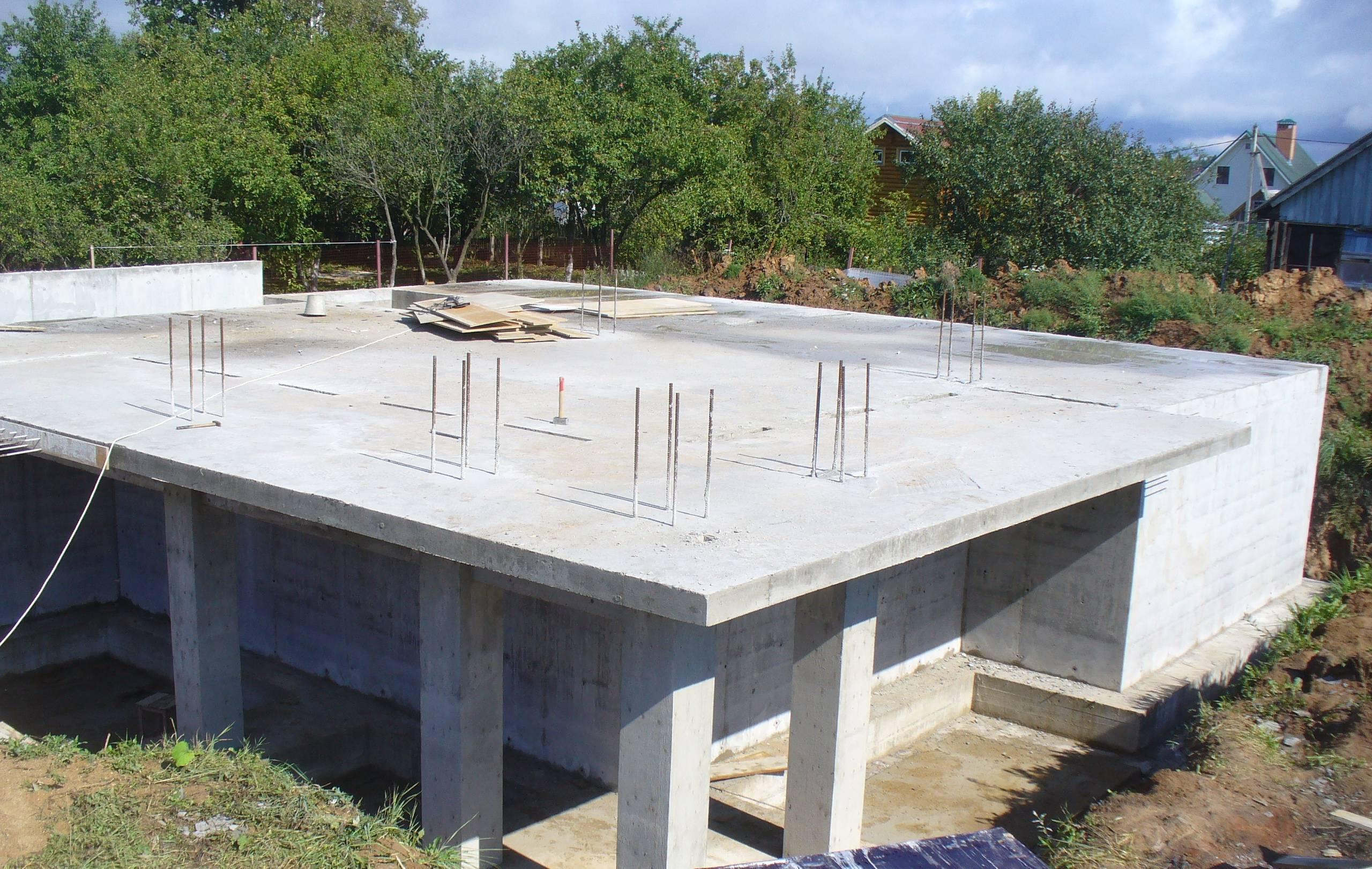 Технология использования бетонных винтовых свай