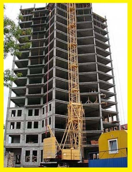 Процесс строительства многоэтажных домов по монолитной технологии, папа мастер!