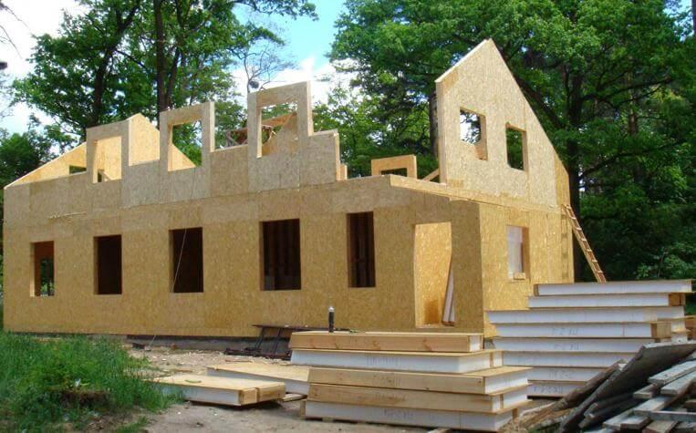 Дом из сип панелей – канадская технология (+фото)