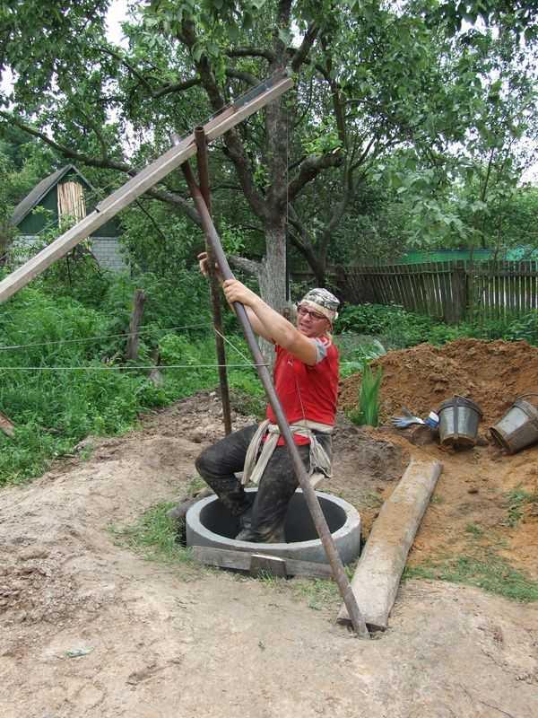 Как сделать колодец на дачном участке: инструкция
