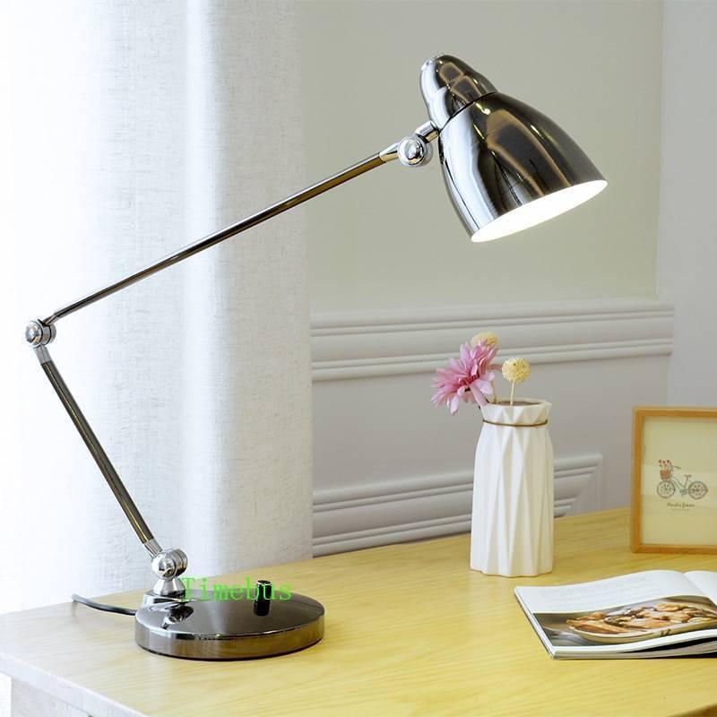 Настольная лампа для рабочего стола (55 фото): стильная и функциональная деталь интерьера