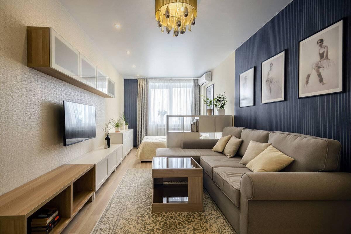 Ремонт однокомнатной квартиры: варианты и примеры отделки, как составить проект