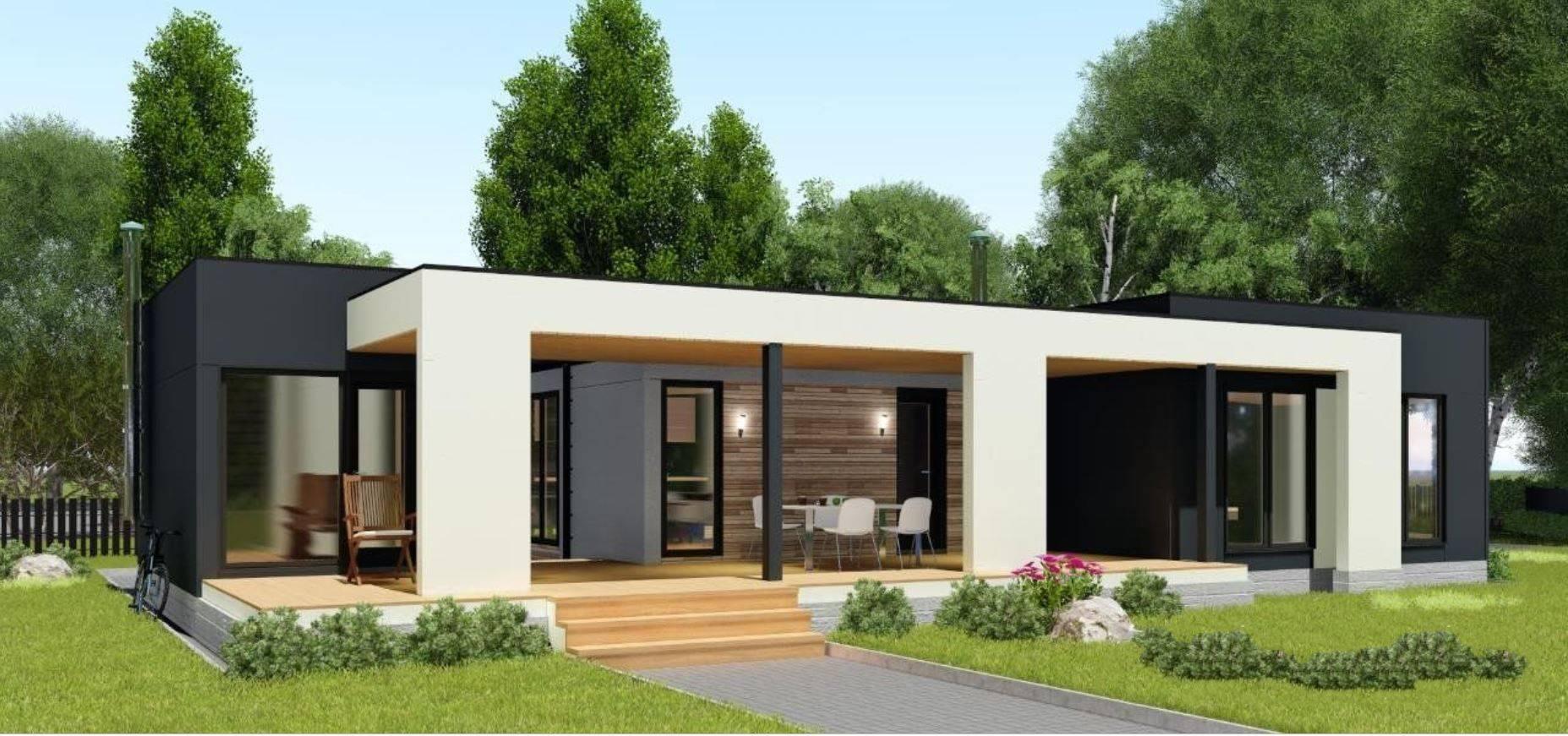 Дома в стиле «хай-тек»: современные технологии в интерьере