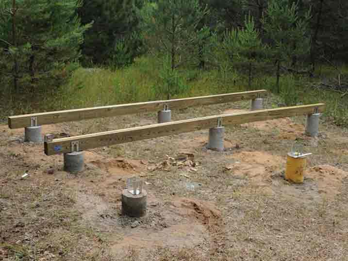 Фундамент под гараж: как выбрать под металлический (железный) гараж и другие, как сделать своими руками, а также какое основание подойдет для строительства на пучинистых грунтах и на болотистой местности