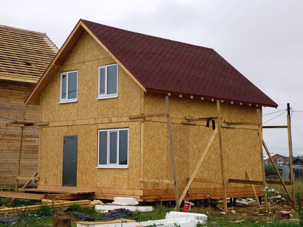 Осб панели – достойное решение для строительства каркасного дома