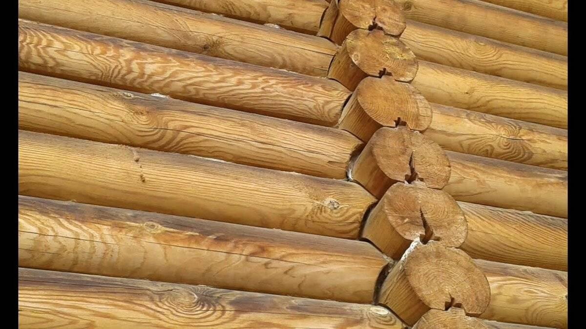Усадка деревянного дома из бруса в зависимости от материала