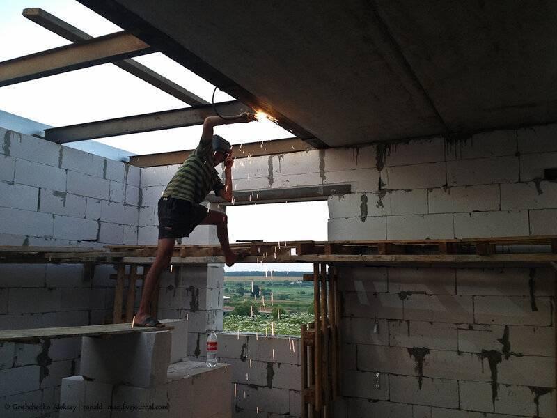 Как залить перекрытие между этажами