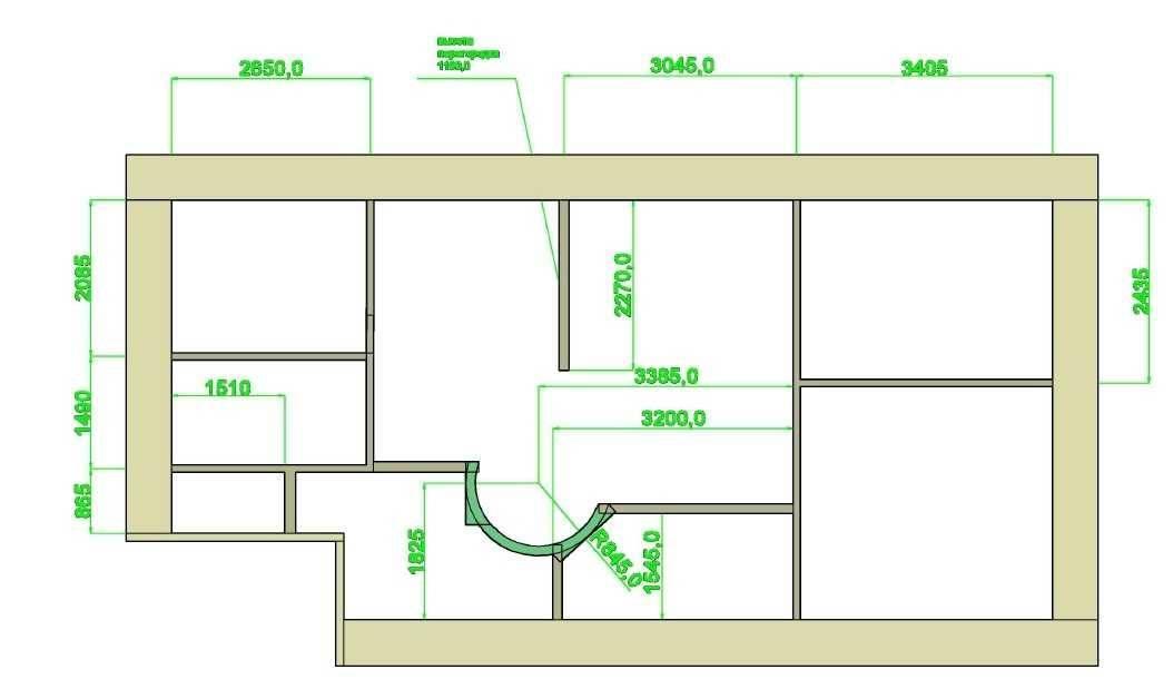 Типовые планировки хрущевок 1, 2, 3, 4 комнатных на планах и фото