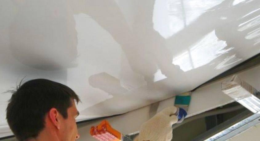Какой натяжной потолок выбрать — пвх или тканевый?