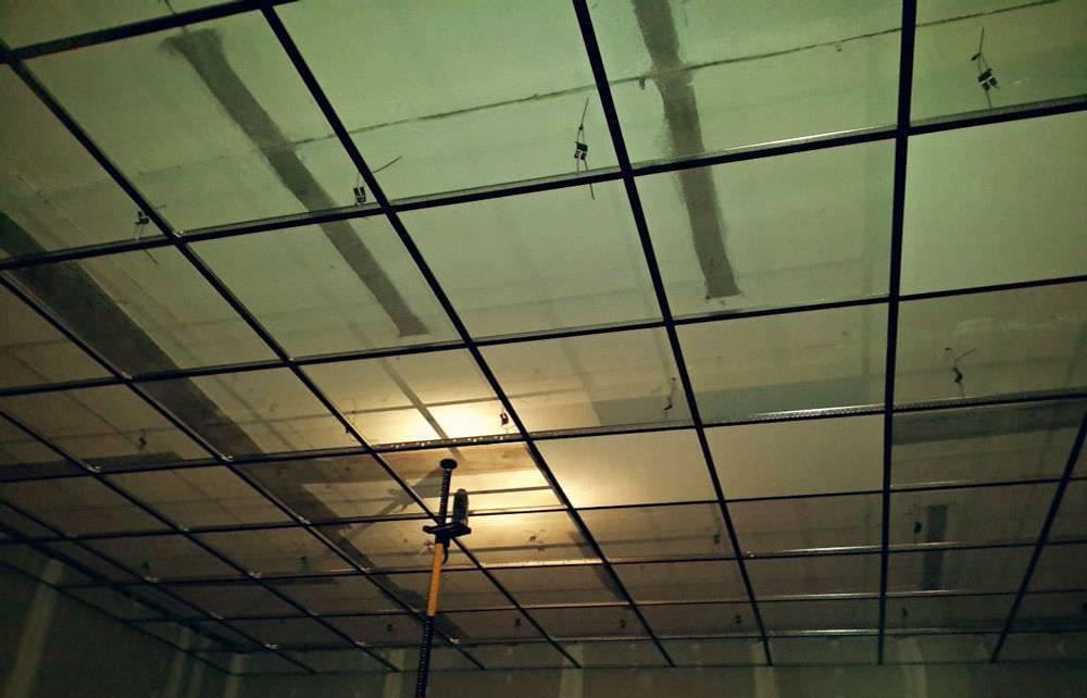 Потолок армстронг - 100 фото идей необычного дизайна (инструкция монтажа)