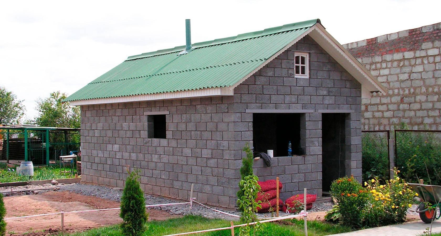 Проекты и строительство дачных домов из пеноблоков ( пенобетона )