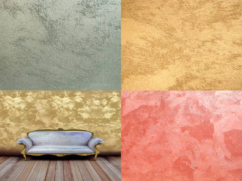 Лучшие фактурные краски для стен с эффектами: технология нанесения декоративного покрытия