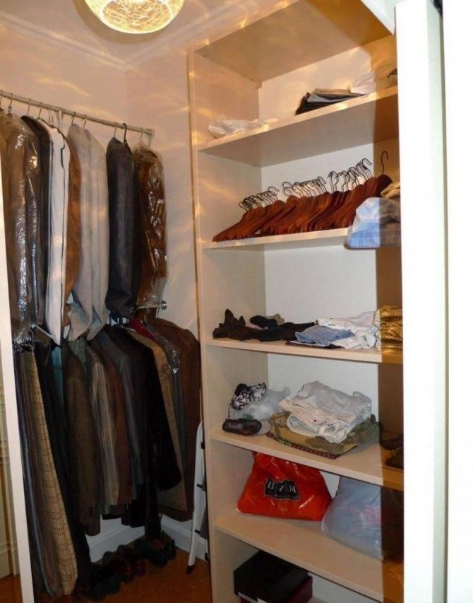 Освещение и вентиляция гардеробной: виды, способы