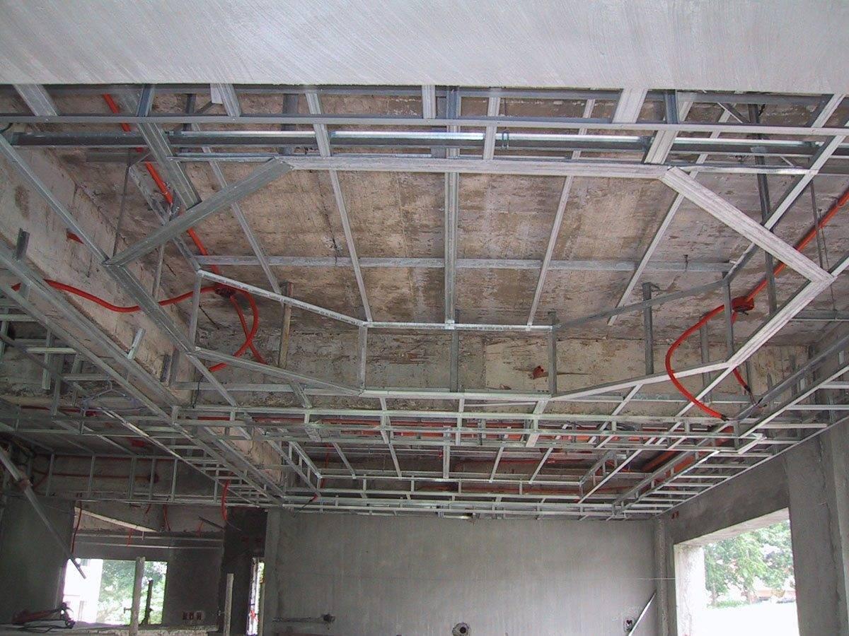Монтаж потолка из гипсокартона инструкция по устройству своими руками