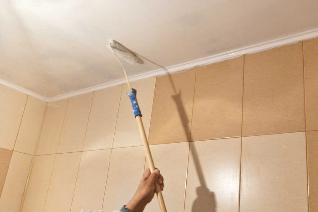 Чем покрасить потолок в квартире - технология покраски и выбор материала!