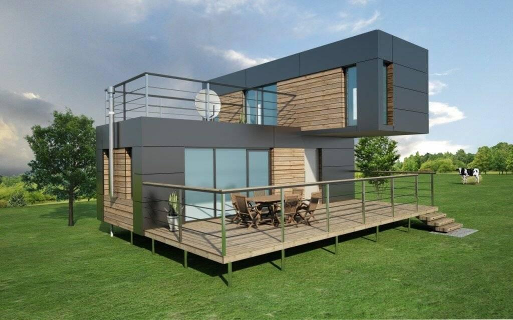 Дом в стиле хай тек - 105 фото, чертежи, стоимость и выбор оборудования для современного стиля