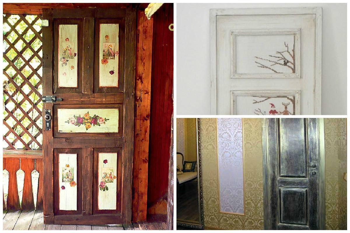 Межкомнатные советские двери: варианты обновления створки