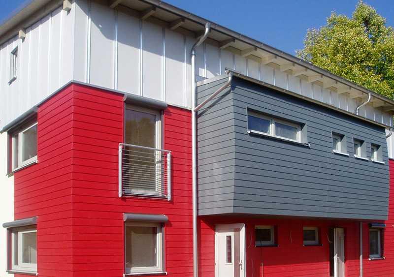 Eternit фиброцементный сайдинг - лучшие фасады частных домов