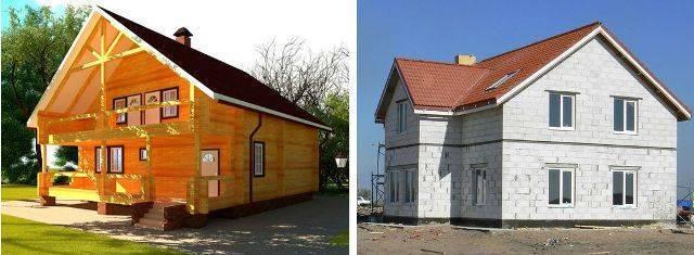 Какой дом лучше: каркасный или из газобетона (пеноблоков)?