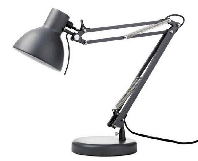 Настольная лампа для рабочего стола: дневного света, светодиодная
