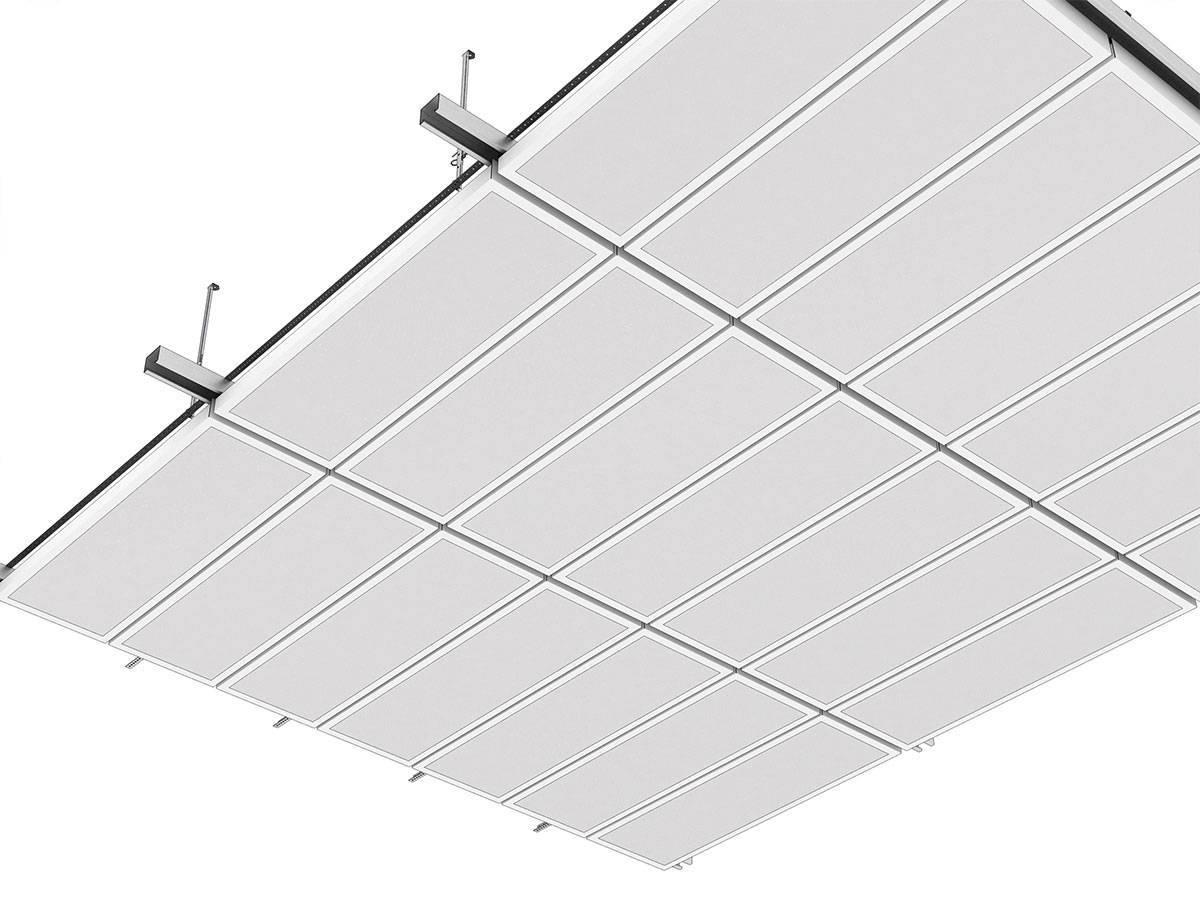 Металлический потолок: подвесной кассетный и реечный, цена за м2 монтажа