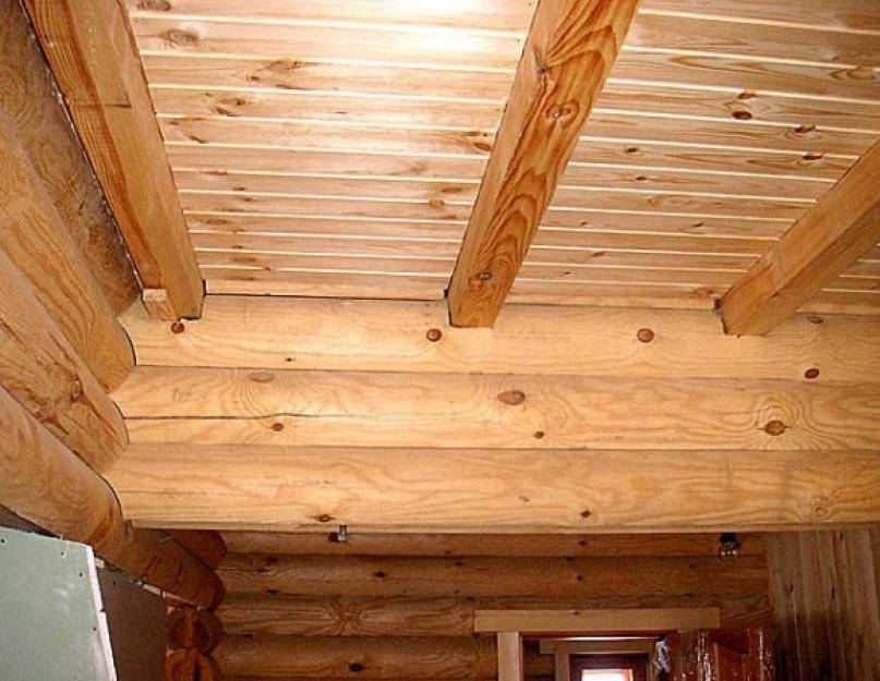 Как сделать потолок своими руками в частном деревянном доме