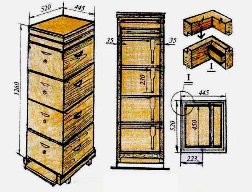 Пчеловодство: альпийский улей от «а» до «я»— пасека хомича