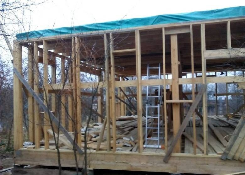 Каркасные дома: строительство зимой и утепление