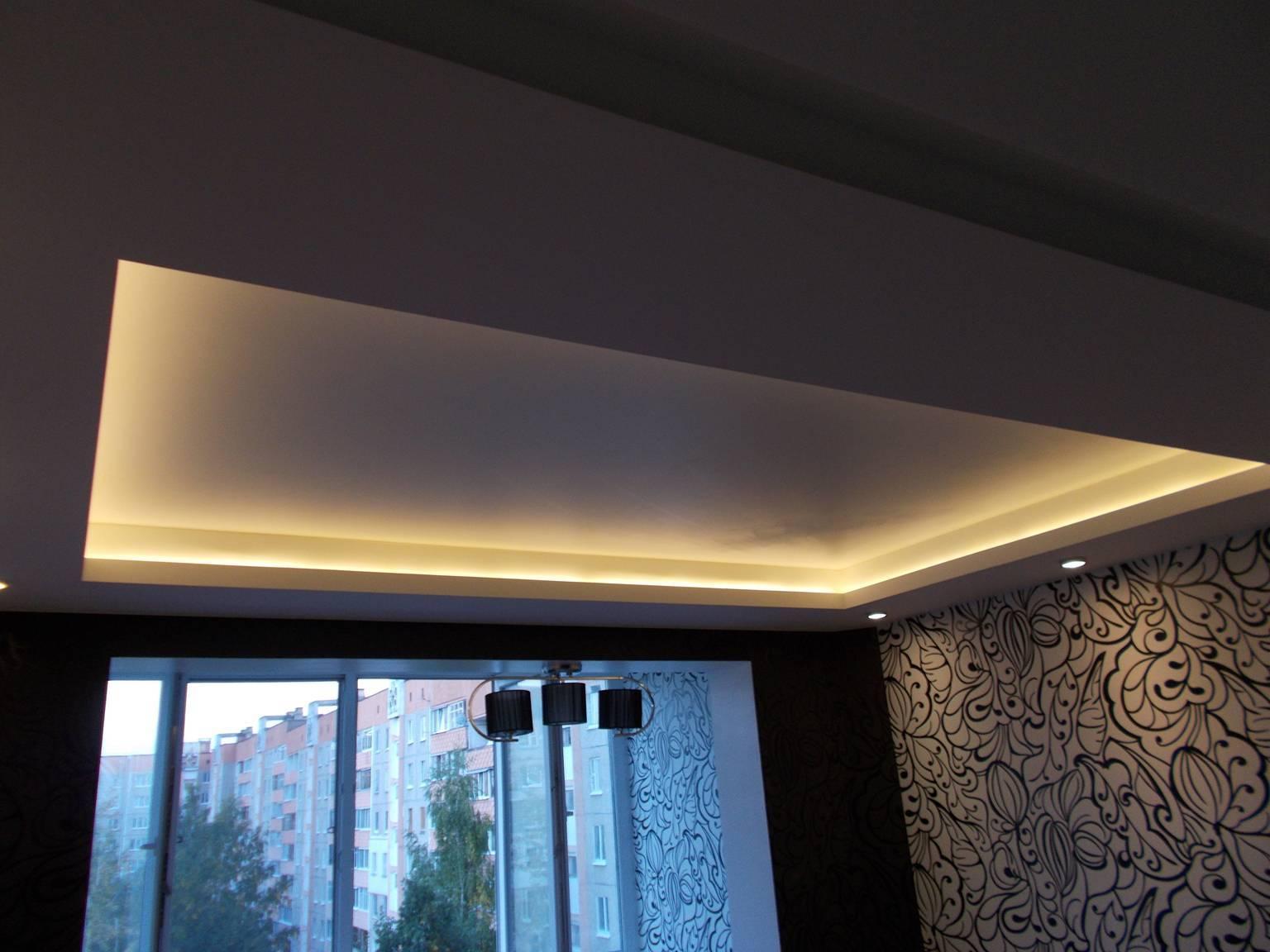 Светящийся потолок: способы создания оригинального интерьера