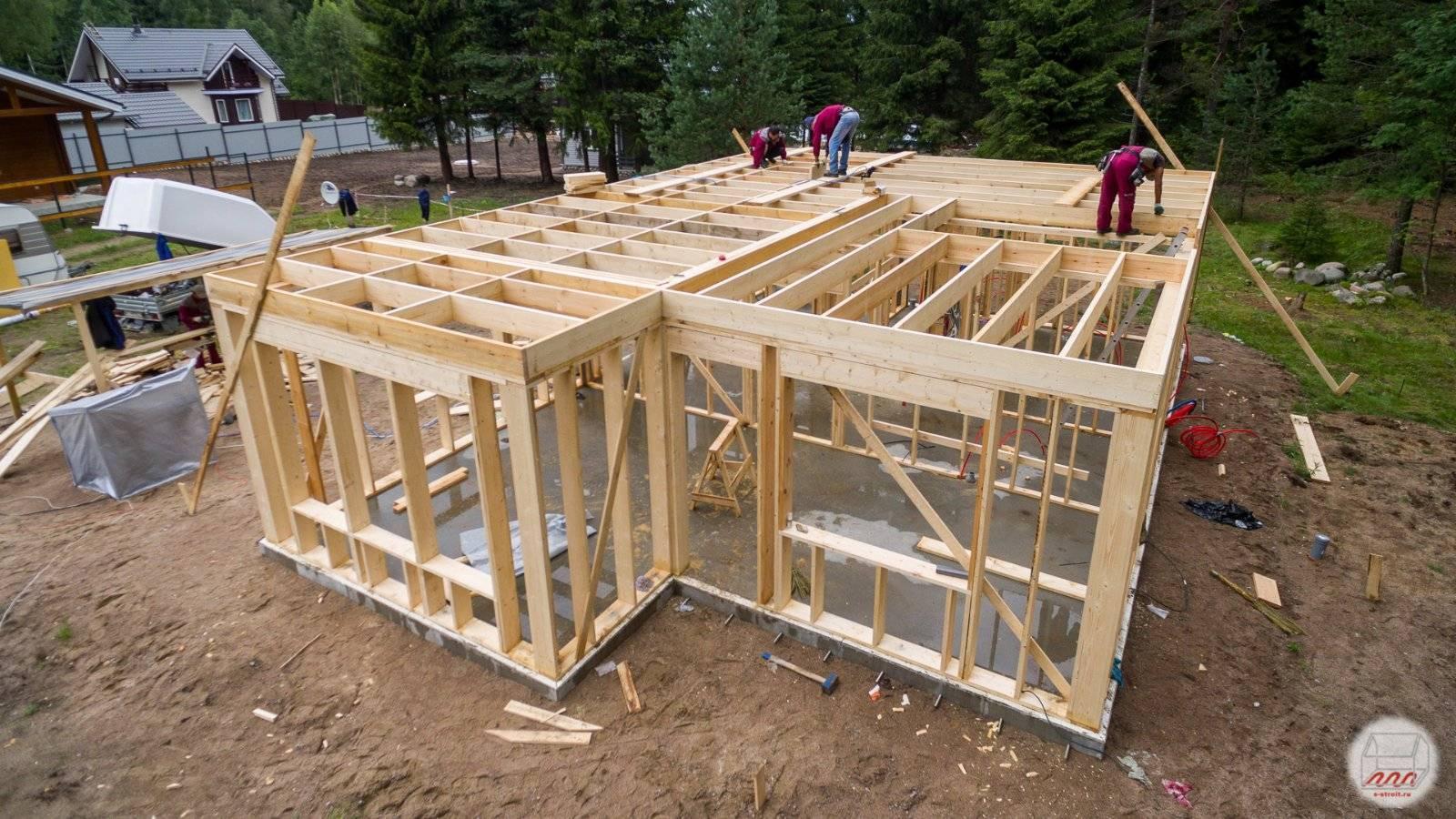 [инструкция] строим каркасный дом своими руками   фото