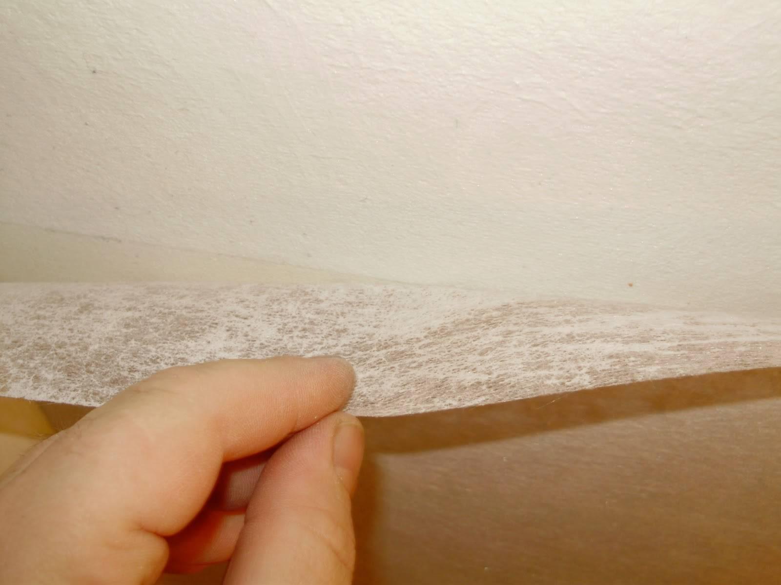 Стеклохолст под покраску, укрепление стены паутинкой