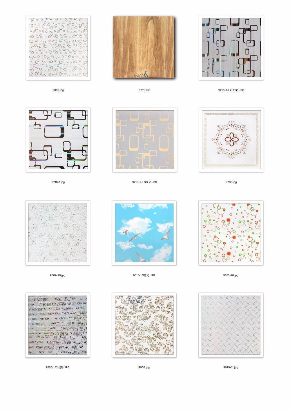 Панели пвх для потолка: размеры и другие характеристики, видео-инструкция по монтажу и фото