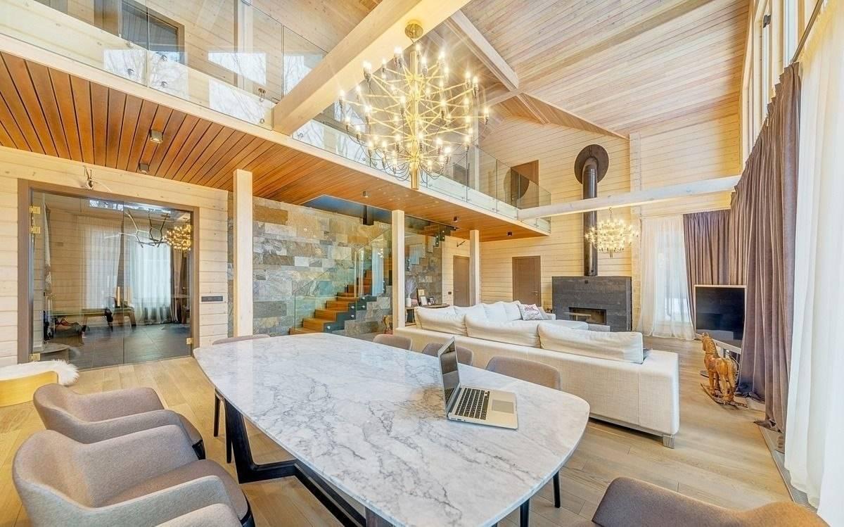 Дома из клееного бруса - 115 фото дизайна и изготовления современного жилья