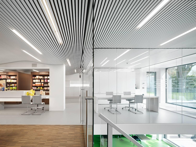 Реечные потолки - цена алюминиевых подвесных потолков за м2 от ооо «фирма бард»