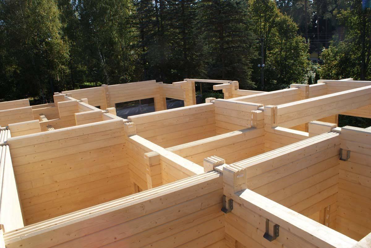 Современные дома из профилированного бруса — преимущества домов, технология строительства. сборка дома из профилированного бруса
