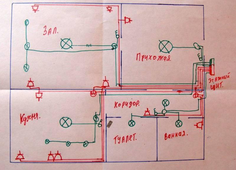 Как установить проводку в деревянном доме своими руками