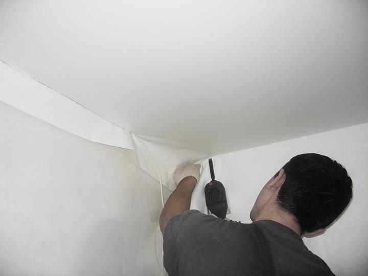 Натяжные потолки цена за м2 с установкой в москве