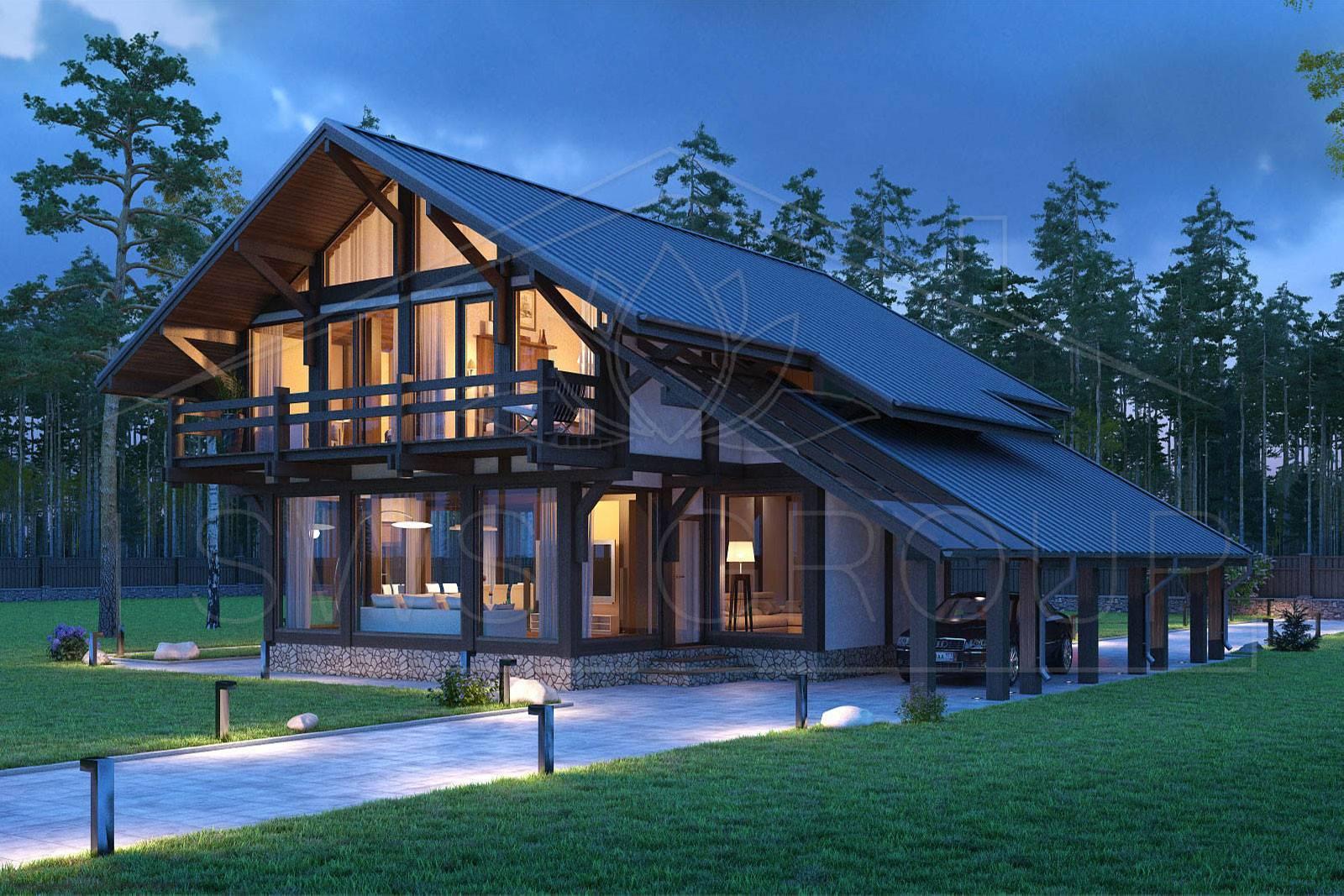 Фахверковый дом: фото, видео, характерные черты и особенности проекта
