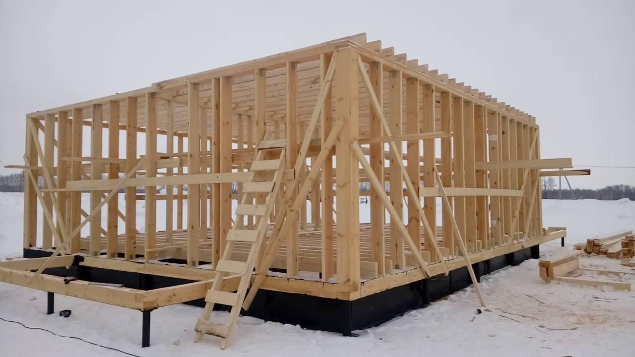 Можно ли строить дом зимой. плюсы и минусы стройки дома в зимний период