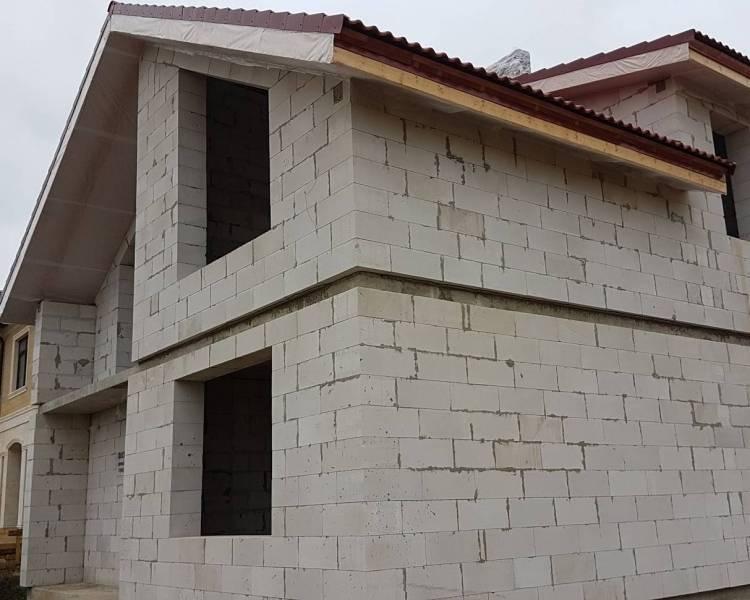 Одноэтажный дом из газобетона: строительство, проекты домов из газоблока