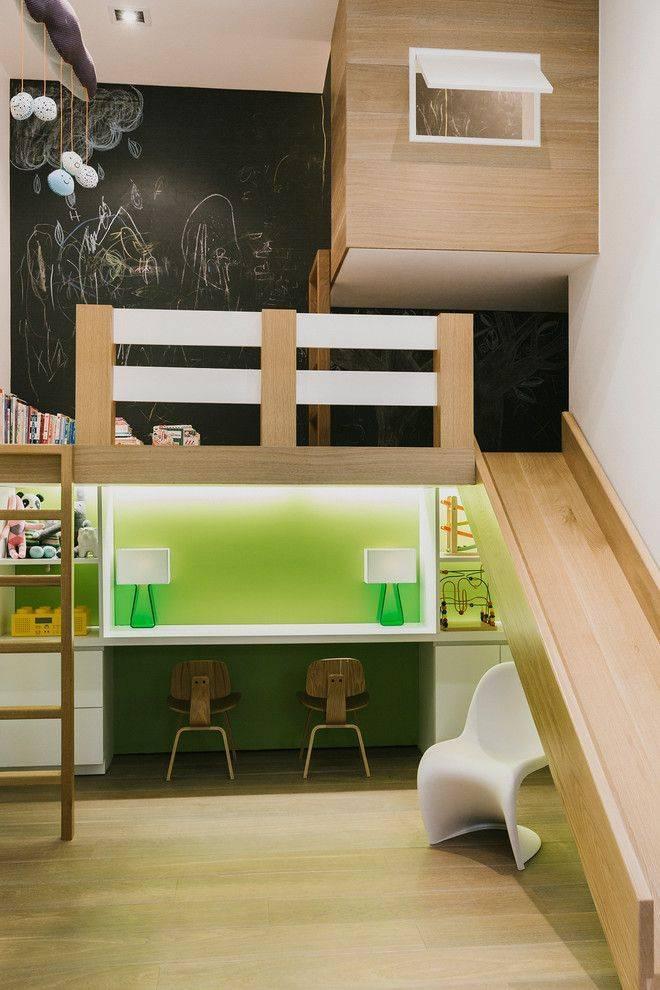 Детская кровать-чердак: 115 фото удивительных современных идей