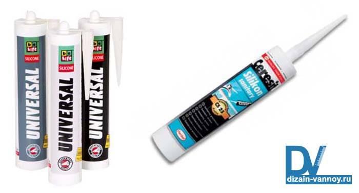 Герметик для ванной: как выбрать, как нанести и как удалить с поверхности