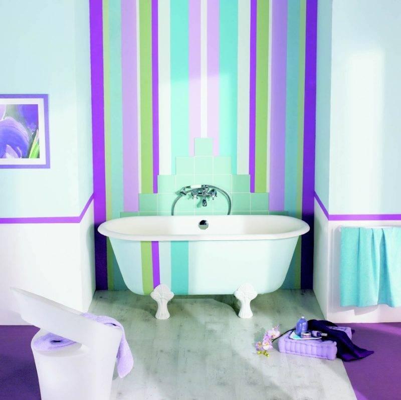 Чем покрасить стены в ванной вместо керамической плитки