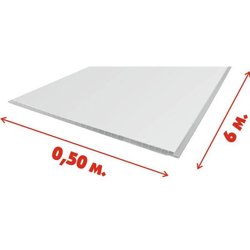 Пластиковые панели для потолка: размеры и виды пвх отделки