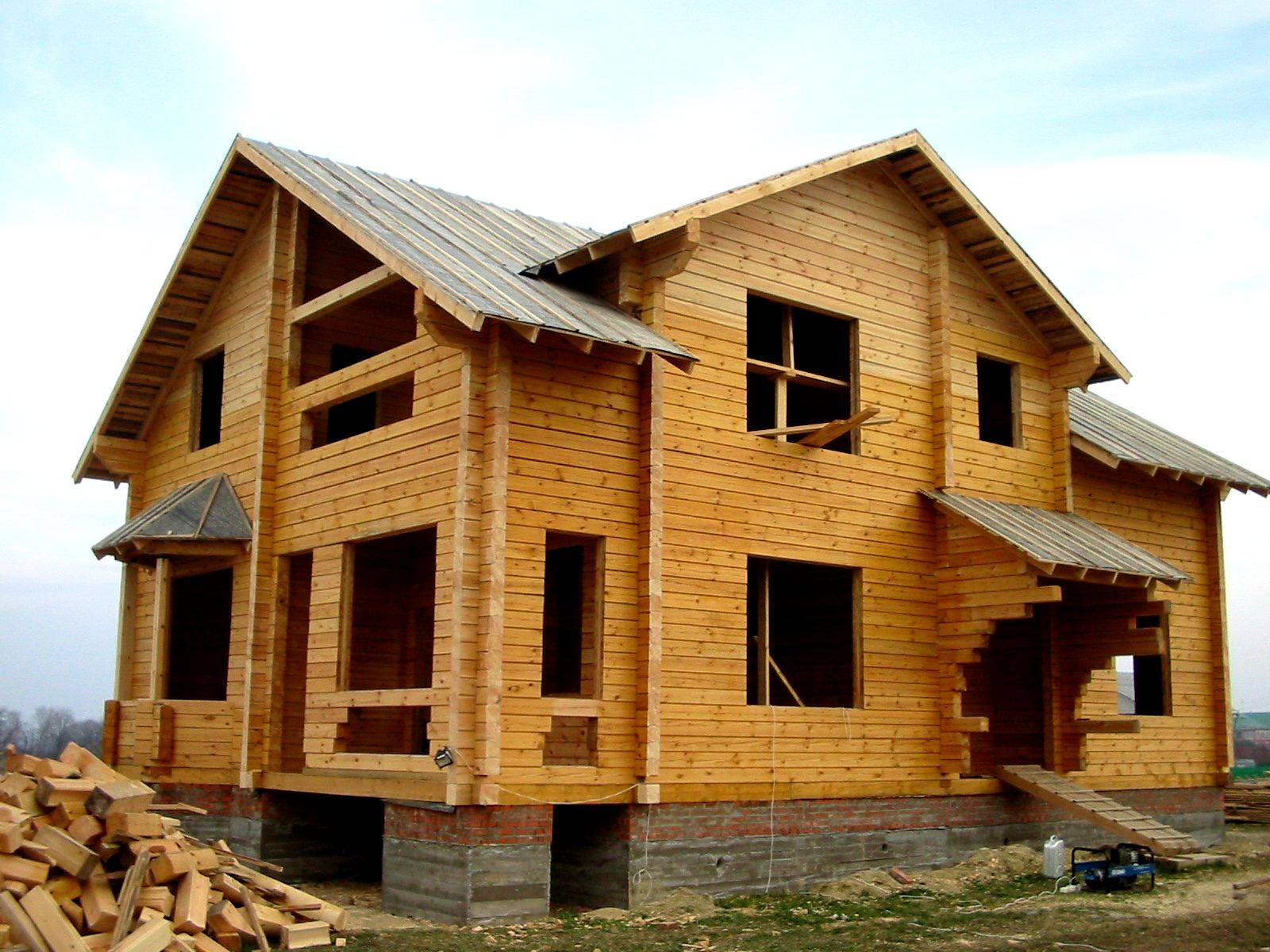 Современные дома из профилированного бруса: проектирование, расчет бруса на дом. пошаговая инструкция, как построить дом своими руками